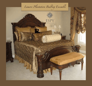 Lismore Plantation Bedding and Drapery Collection