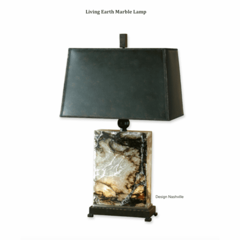 Living Earth Marble Table Lamp