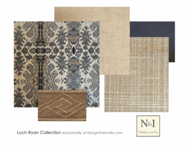 Loch Ryan Bedding and Drapery Collection