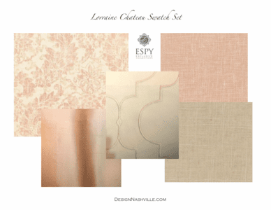 Lorraine Chateau Bedding and Drapery Collection