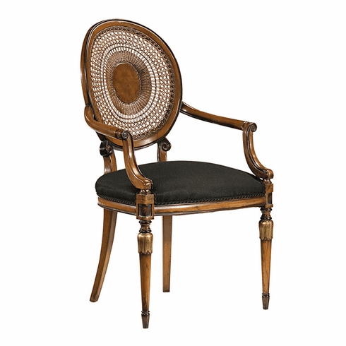 Louis XVI Chair with Caned Back