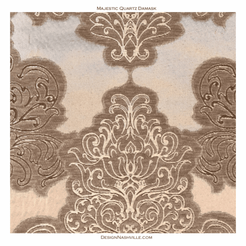 Majestic Quartz Damask Fabric