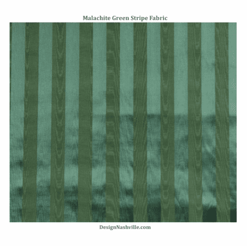 Malachite Green Stripe Fabric