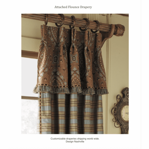 Marquette Heights Waterfall Valance Drapery Panel