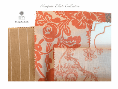 Marguita  Estate Bedding and Drapery Collection