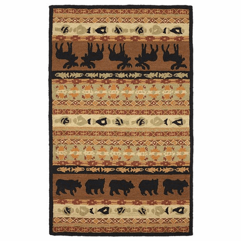 Memories of Yellowstone area rug