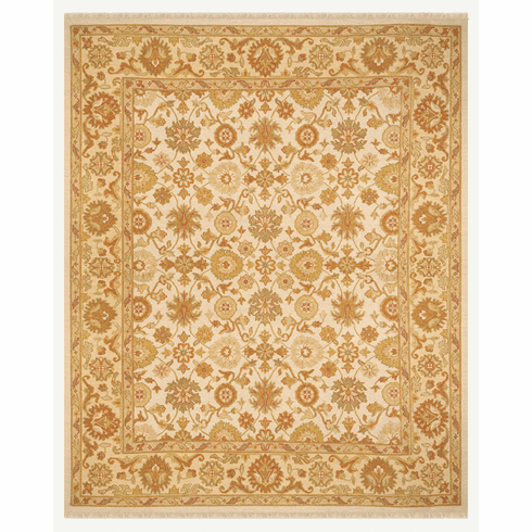 Mendocino Heights Rugs, ivory gold