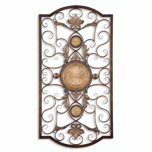Micayla Forged Metal Wall Decor, large