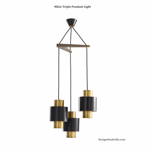 Milos Triple Pendant Light