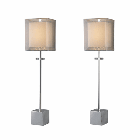 Mime Modern Buffet Lamps set of 2