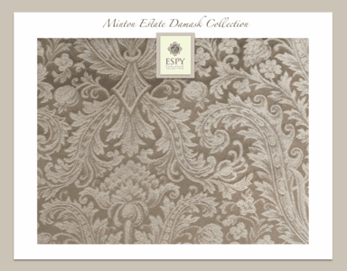 Minton Estate Bedding and Drapery Collection