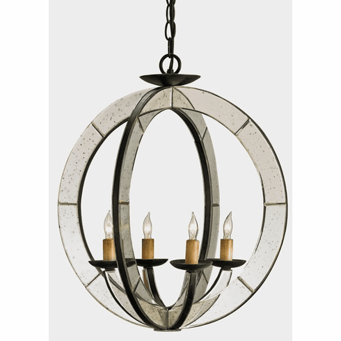 Mirrored Rings Chandelier