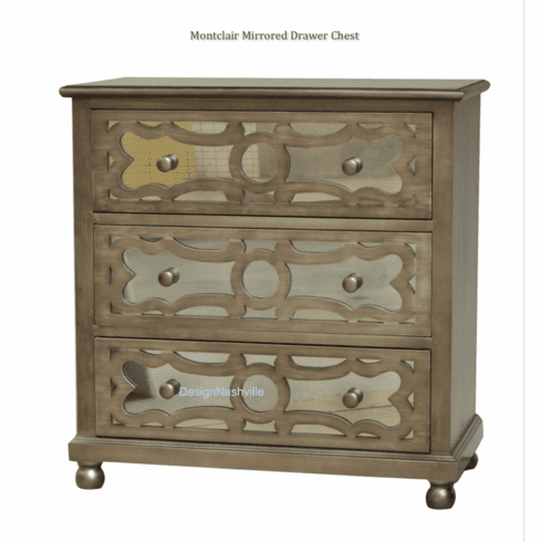 Montclair Mirrored Drawer Chest