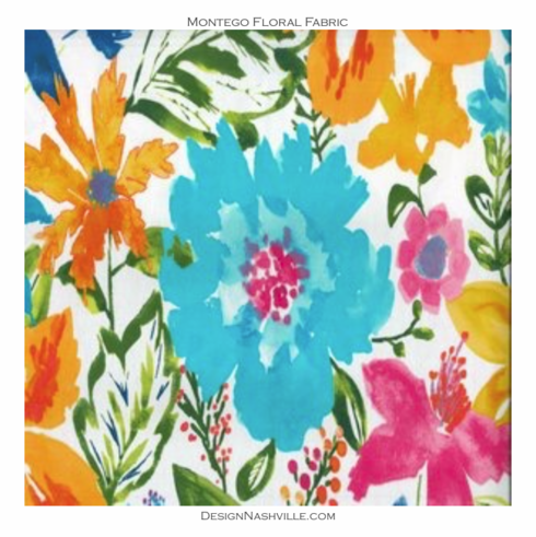Montego Floral Fabric