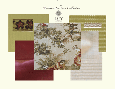 Montrose Chateau Bedding and Drapery Collection