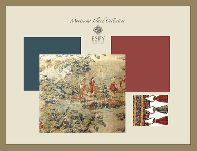 Montserrat Island Bedding and Drapery Collection