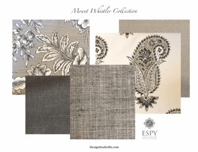 Mount Whistler Drapery and Bedding Collection