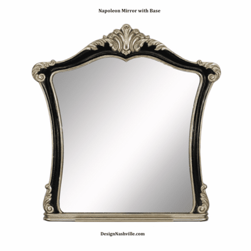 Napoleon Mirror with Base