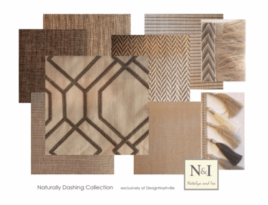Naturally Dashing Bedding and Drapery Collection
