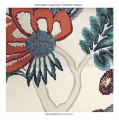 Nederby Garden Printed Fabric
