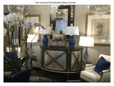 Neo-Classical Fine Home Accents assortment