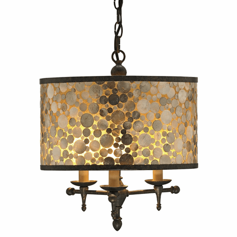 New Castle small pendant chandelier