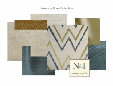 Newbury Street Bedding and Drapery Collection