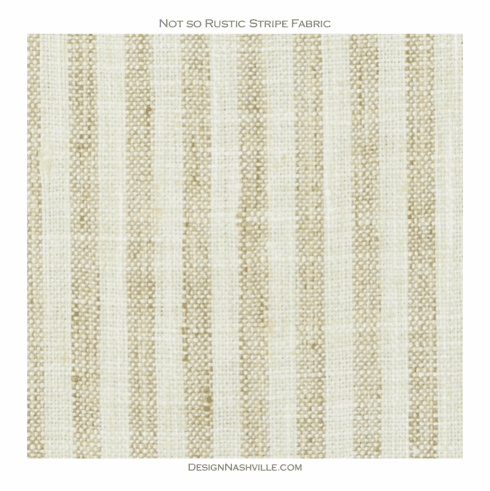Not so Rustic Stripe Fabric, wheat