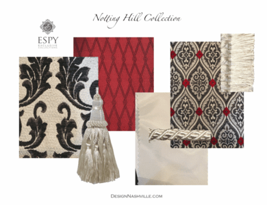 Notting Hill Bedding and Drapery Collection
