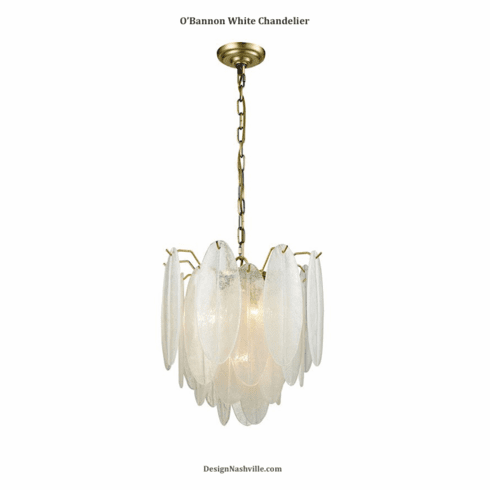 O'Bannon White Chandelier