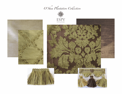 O'Shea Plantation Bedding and Drapery Collection