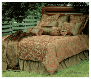 Oak Leaf Autumn bedding