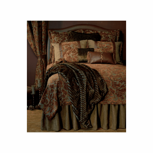 Oak Leaf Autumn bedding ensemble