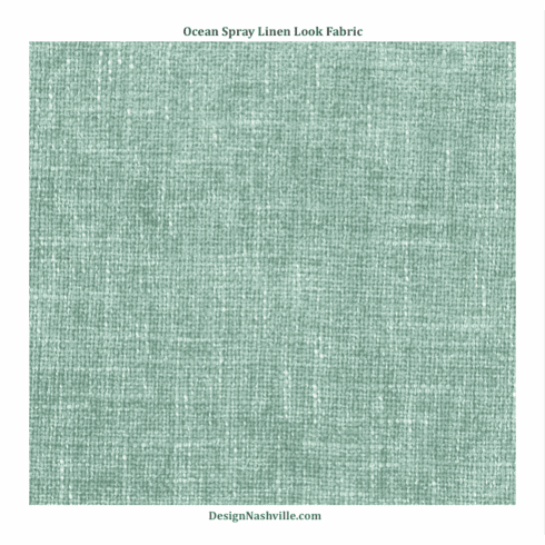 Ocean Spray Linen Look Fabric