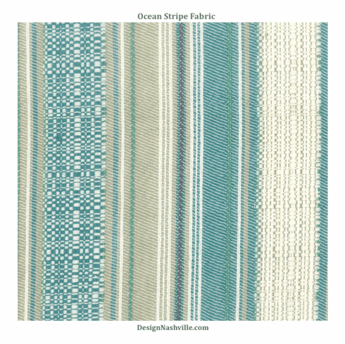 Ocean Stripe Fabric