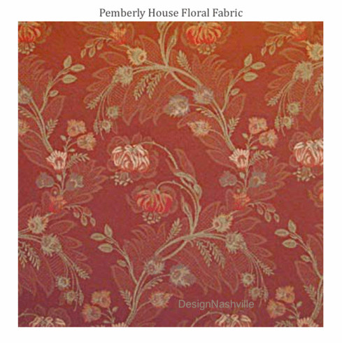 Pemberly House Floral Fabric