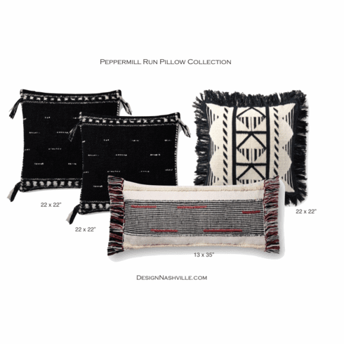 Peppermill Run Pillow Collection