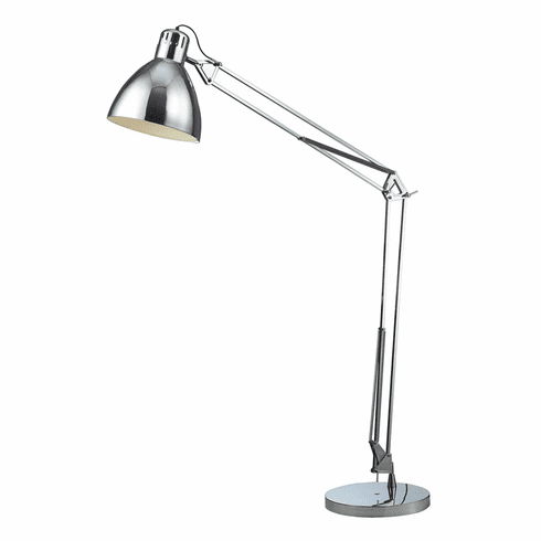 Perceval Task Floor Lamp, chrome