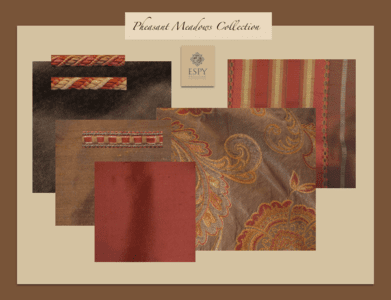 Pheasant Meadows Bedding and Drapery Collection
