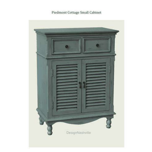 Piedmont Cottage Small Cabinet