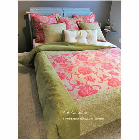 Pink Panache Bedding Ensemble