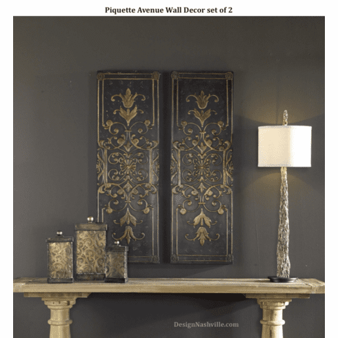 Piquette Avenue Wall Panels, set of 2