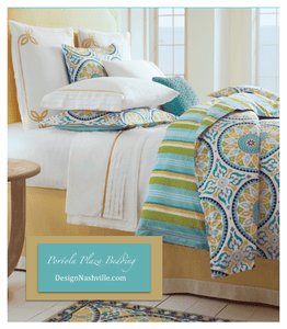 Portola Plaza Bedding and Drapery Collection