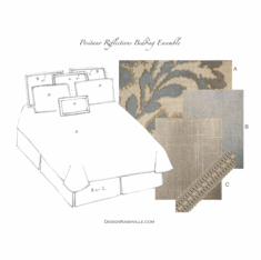 Positano Reflections Bedding <br>Ensemble