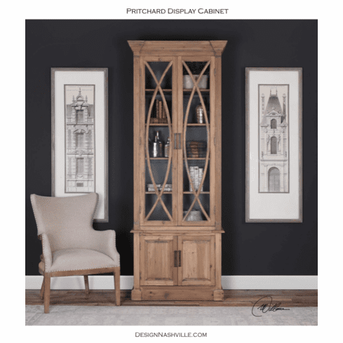 Pritchard Display Cabinet