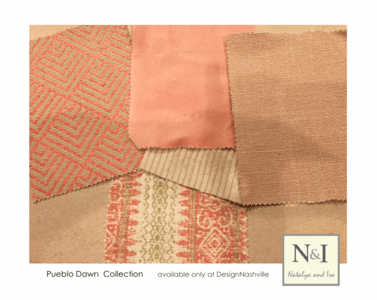 Pueblo Dawn Bedding and Drapery Collection