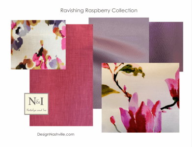 Ravishing Raspberry Bedding and Drapery Collection