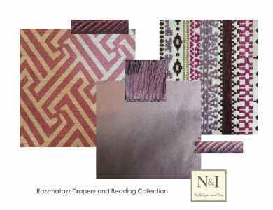 Razzmatazz Luxury Bedding and Drapery Collection