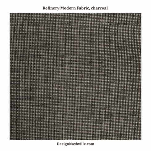Refinery Modern Fabric, charcoal