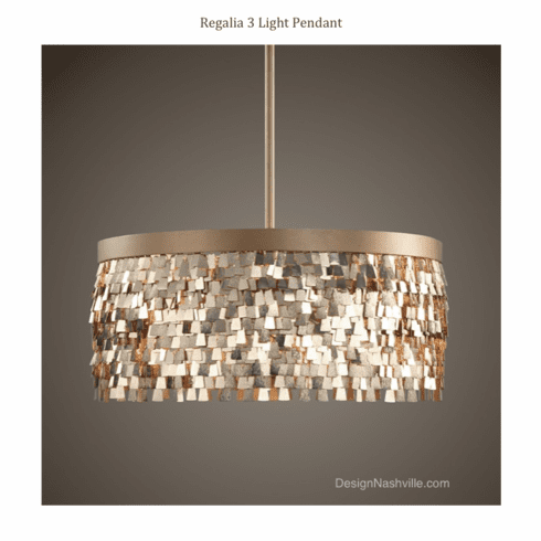Regalia 3 Light Pendant